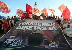 Eleições Diretas e Fora Temer: Manifestações agitam o centro e orla de Salvador