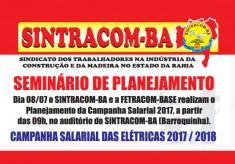 Atenção trabalhadores (as) das Elétricas. Venham participar!