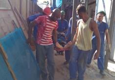 Acidente no Pelourinho: Dois operários feridos