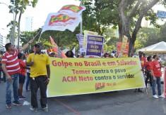 05/12: Dia de luta teve manifestação na Bahia pelo direito à aposentadoria