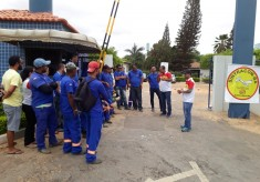 MS / Embasa: Trabalhadores (as) paralisaram as atividades por atraso de salários