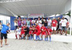 24/03: Centenário do SINTRACOM-BA teve dia de futsal e diversão