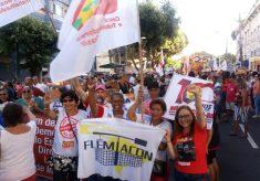 GREVE GERAL: Mais de 45 milhões de trabalhadores (as) pararam no Brasil. Mais de 60 mil na caminhada em Salvador