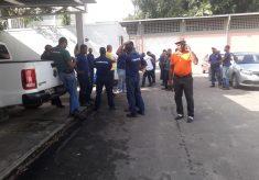 RCS / UFBA: Operários paralisam obras por atraso de salários
