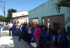 Projecon / Embasa: Trabalhadores (as) paralisam atividades na ilha de Itaparica