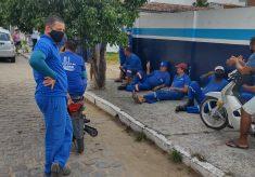 MS / Embasa: Trabalhadores (as) paralisam de novo por atraso de salários