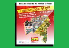 SINTRACOM-BA participa do 5º Congresso Estadual da CTB