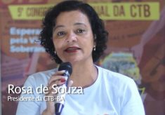 5º Congresso elegeu uma mulher para dirigir a CTB