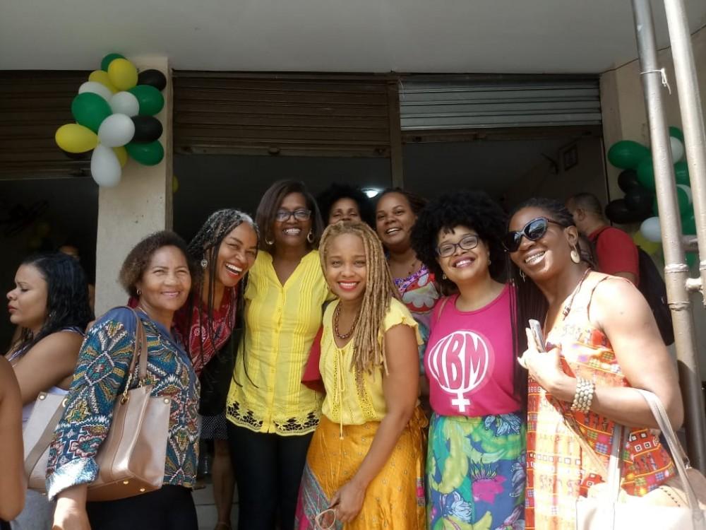 Julho das Pretas: Sintracom participou da Marcha das Mulheres