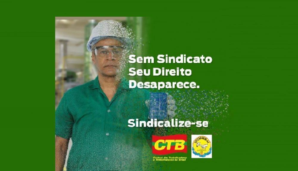 Campanha de Sindicalização: Sem Sindicato Seu Direito Desaparece