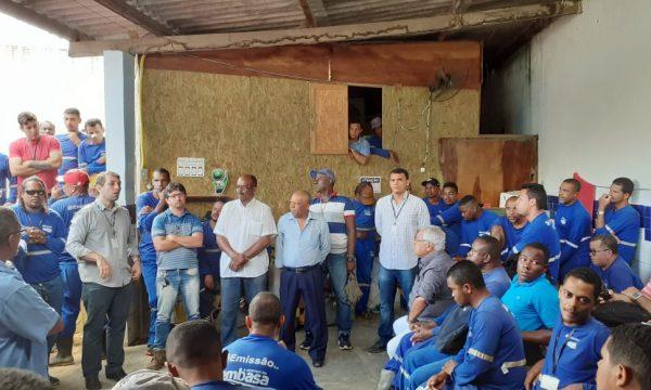 Hoje tem audiência no MPT: Paralisação dos trabalhadores da Emissão / Embasa