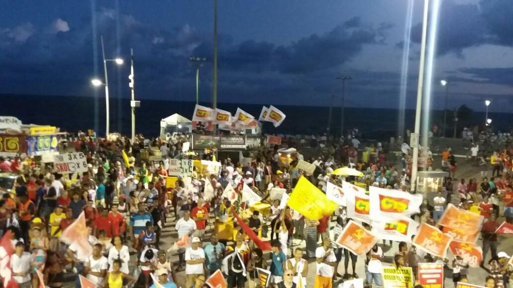 Depois da Greve Geral vitoriosa, as manifestações no 1° de Maio, Dia dos Trabalhadores