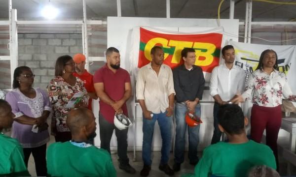 SINTRACOM-BA lançou Campanha de Saúde e Segurança