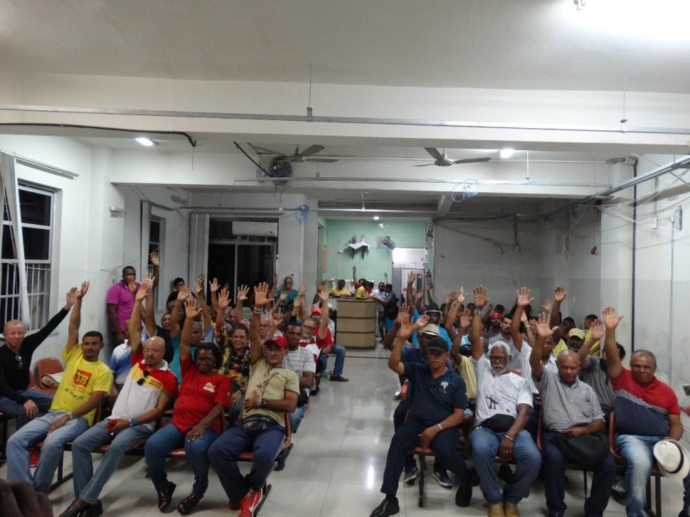 Assembleia no SINTRACOM-BA aprova por unanimidade contribuição sindical