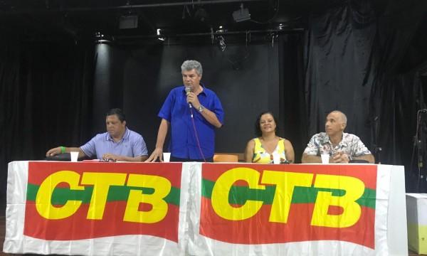 SINTRACOM-BA participou da plenária estadual da CTB Bahia