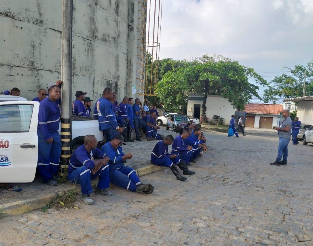 A luta dos trabalhadores (as) da Emissão / Embasa: dia 16, tem reunião na Diretoria da Embasa