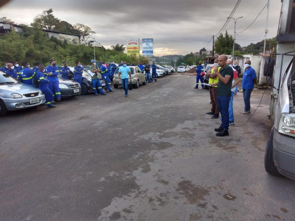 Dínamo (Coelba): Protesto dos trabalhadores (as)