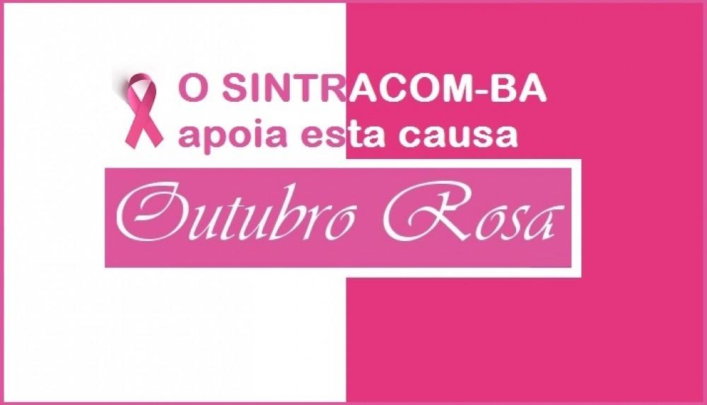 Começa o Outubro Rosa, mês de combate o câncer de Mama