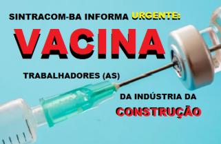VACINAÇÃO DA CATEGORIA
