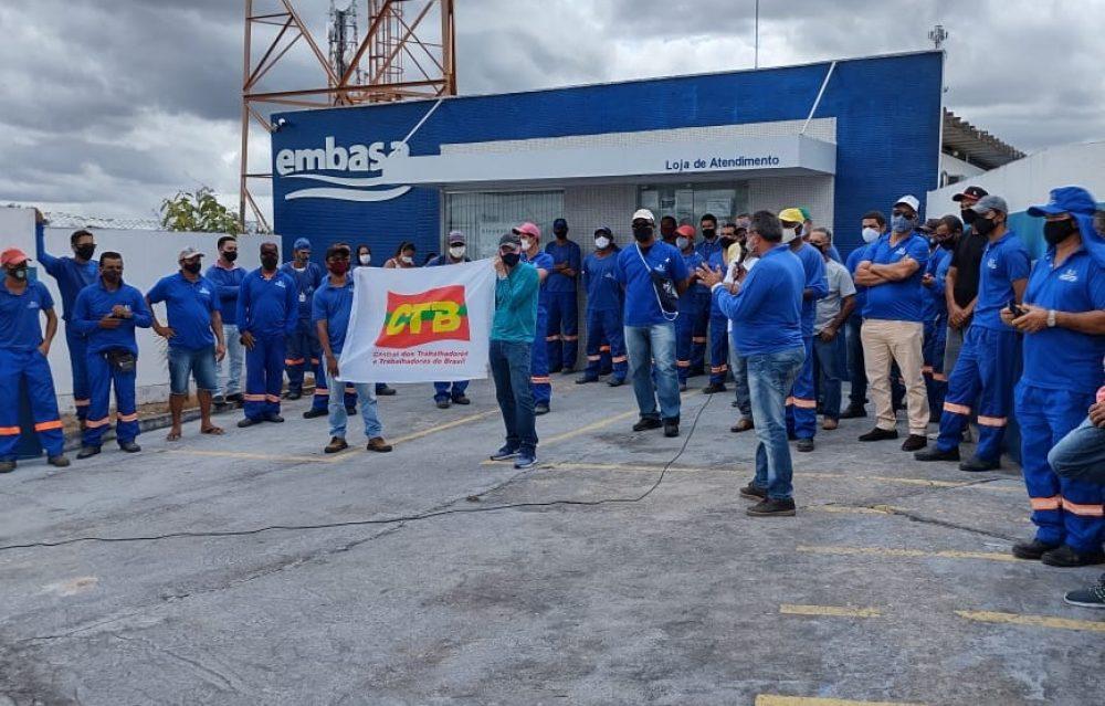 MS / Embasa: Trabalhadores (as) retornaram ao trabalho