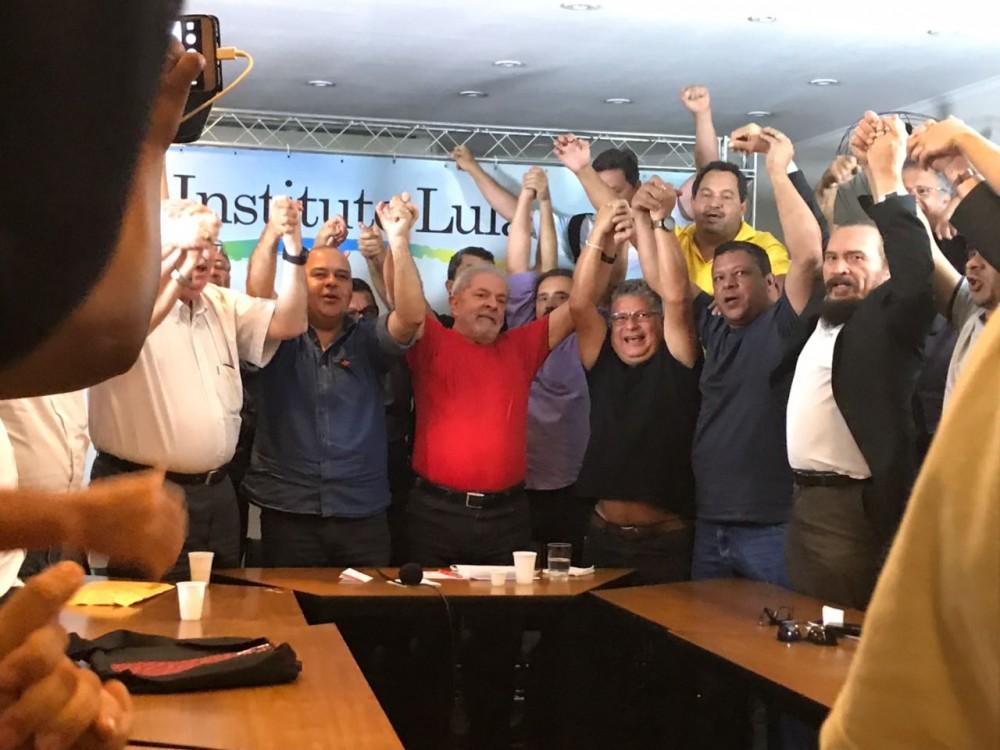 Sindicalistas com Lula: CTB se soma à campanha em defesa do ex-presidente