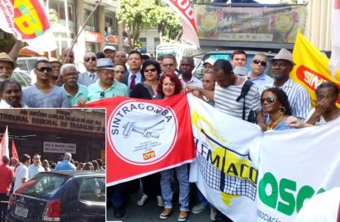 Vamos reagir e lutar! Golpistas querem retirar direitos dos trabalhadores (as)