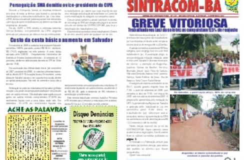 Jornais do SINTRACOM de 1990