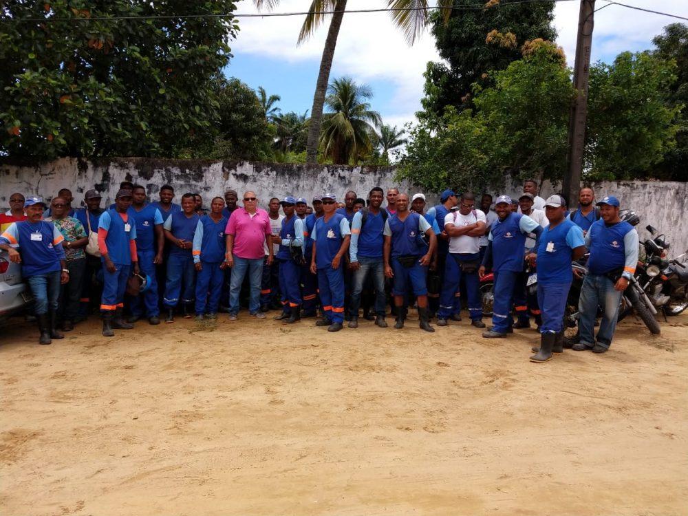 Projecon / Embasa: Paralisação continua em Itaparica