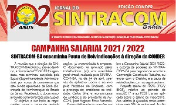 Jornal 709 – Conder