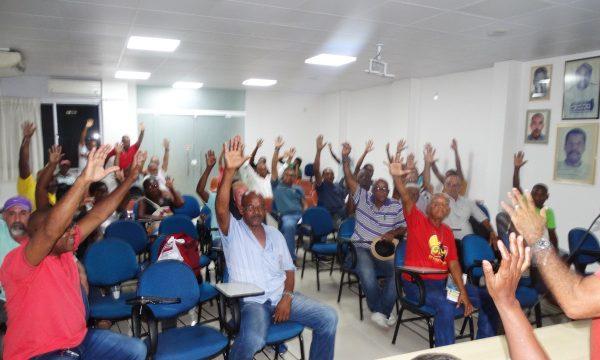 Campanha Salarial: Assembleia aprovou por unanimidade reajuste de 4,48%